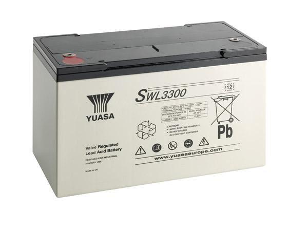 APCSWL3300 Yuasa VRLA 12V Battery