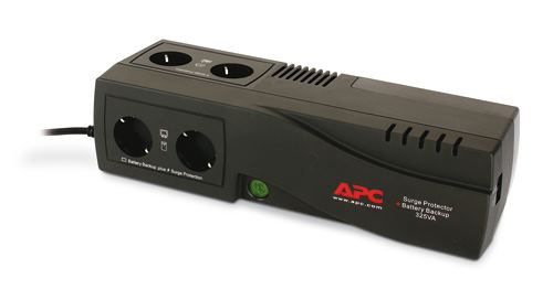 APC SurgeArrest Battery Backup 325VA 4x schuko