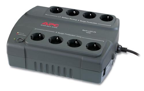 APC Back-UPS ES 400VA 230V 8x schuko