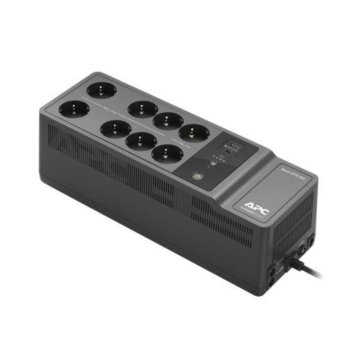 APC Back-UPS 850VA 400W, 230V, 8 Outlets 2 USB charging ports
