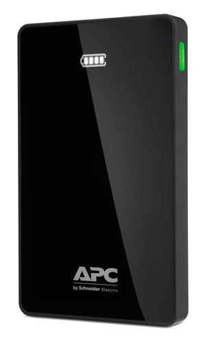 APC Mobile Power Pack, 10000mAh Li-polymer, Black