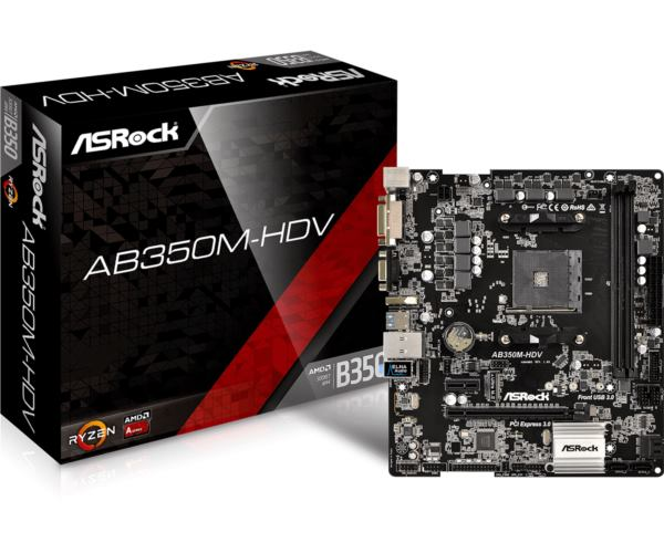 Asrock AMD AM4 Socket B350 chipset (mATX) MB