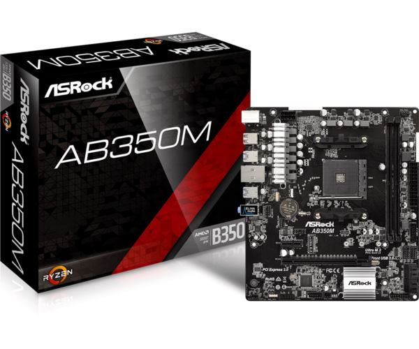 Asrock AMD AM4 Socket B350 chipset (mATX) MB