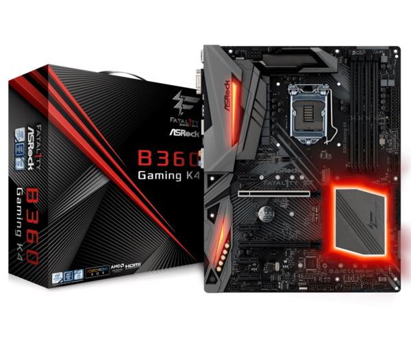 Asrock Intel LGA1151 B360 GAMING K4