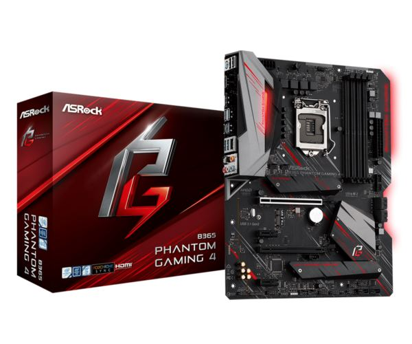 Asrock Intel LGA1151 B365 PHANTOM GAMING 4