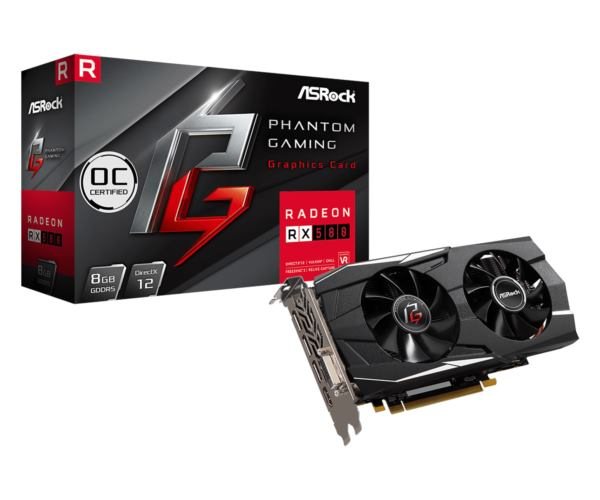 Asrock Radeon Phantom Gaming D RX580 8GB OC