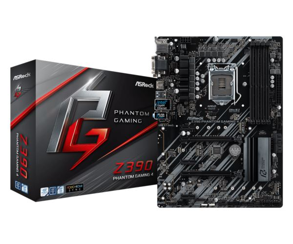 Asrock Intel LGA1151 Z390 PHANTOM GAMING 4
