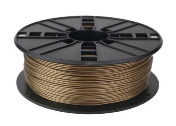 Gembird ABS filament for 3D printer, Gold, 1.75 mm, 1 kg