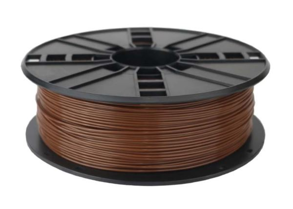 Gembird PLA filament for 3D printer, Brown, 1.75 mm, 1 kg
