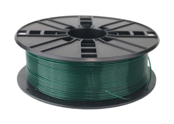 Gembird PLA filament for 3D printer, Christmas Green, 1.75 mm, 1 kg