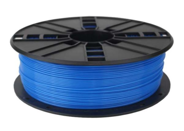 Gembird PLA filament for 3D printer, Fluorescent Blue, 1.75 mm, 1 kg