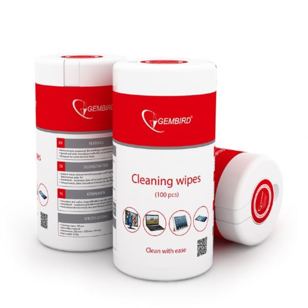 Gembird Cleaning wipes (100 pcs)