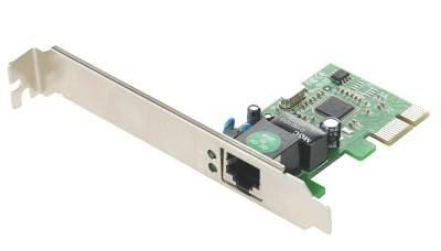 Gembird Gigabit Ethernet PCI-Express card, Realtek chipset