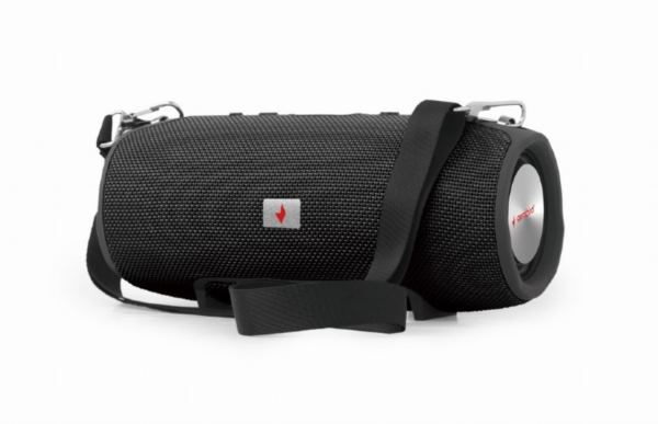 Gembird Bluetooth speaker with powerbank function, black
