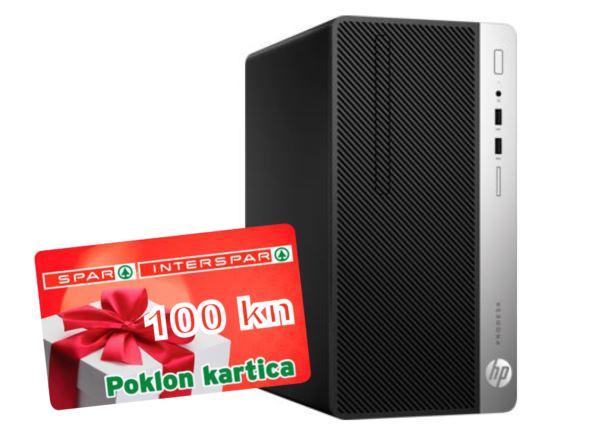 HP ProDesk 400 G5 MT i5-8500 8GB 1TB 128NVMe MB DOS SPAR POKLON KARTICA 100kn