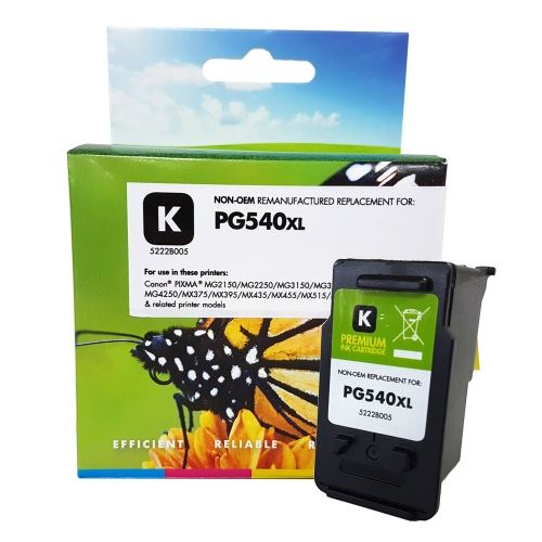 Tinta Static Control Canon PG-540 XL, Black