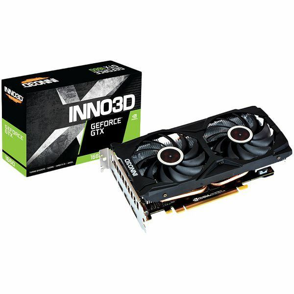 Inno3D GeForce GTX 1660 Gaming OC X2, 6GB