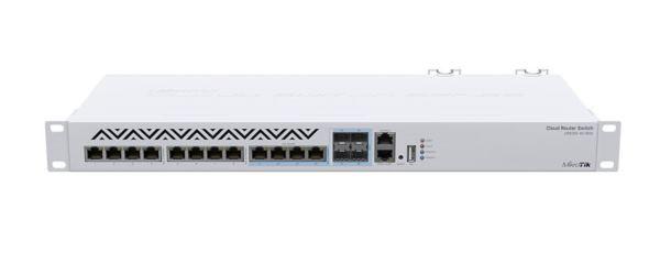 MikroTik 12-Port Cloud router 10G switch 8x 10GbE 4x 10G Combo RJ45 SFP