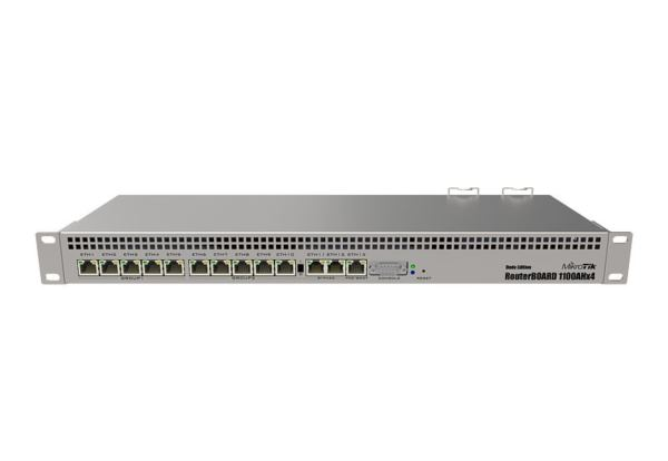 MikroTik Extreme Performance Router with 13 Gig Ethernet Ports RouterOS LVL 6