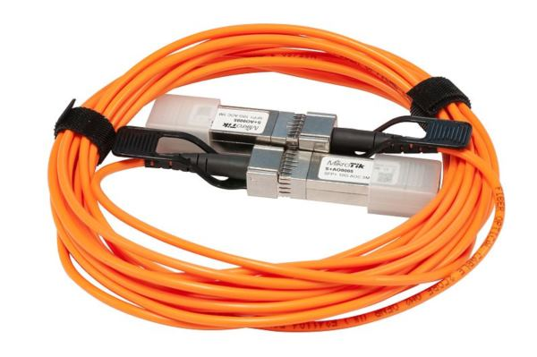 MikroTik 10G SFP Active Optics direct attach cable, 5m