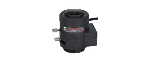 Milesight Lens for Box cam 2.8-12 mm
