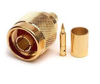 MaxLink VF konektor N male gilded for H155, RF240