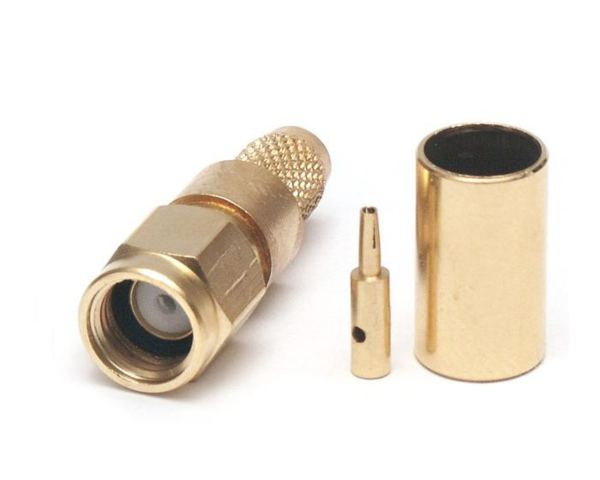 MaxLink VF konektor RSMA male gilded for H155, RF240