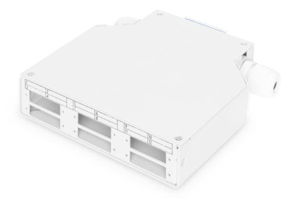 Digitus Professional Din Rail Distribution Box