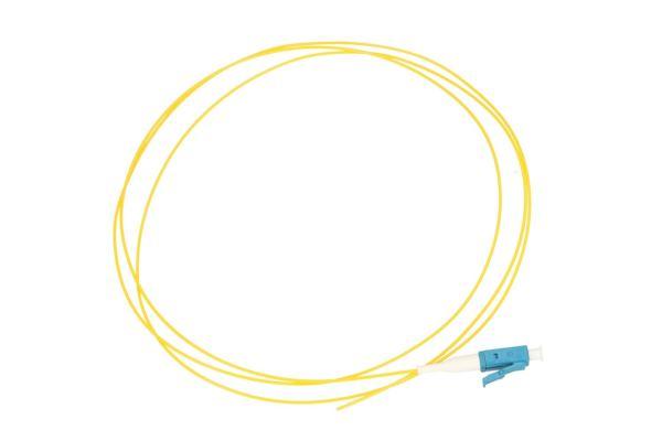 NFO Fiber optic pigtail LC UPC, SM, G.657A1, 900um, 1m