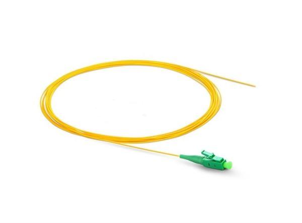 NFO Fiber optic pigtail LC APC, SM, G.657A1, 900um, LSZH, 1m