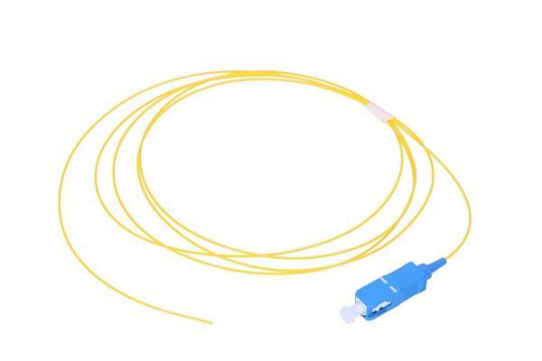 NFO Fiber optic pigtail SC UPC, SM, G.652D, 900um, 2m