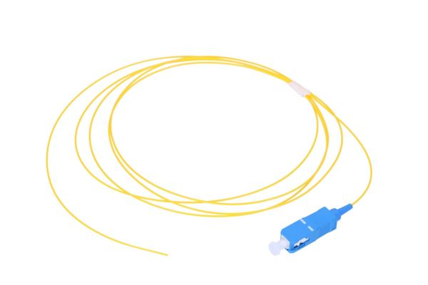 NFO Fiber optic pigtail SC UPC, SM, G.657A1, 900um, 1m