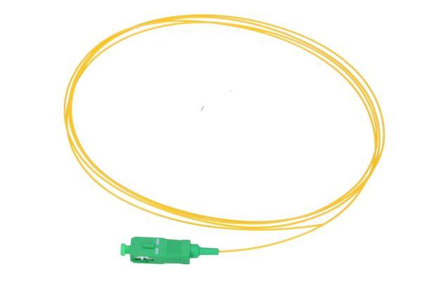 NFO Fiber optic pigtail SC APC, SM, G.657A1, 900um, 3m