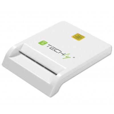 Techly smart card reader, USB external