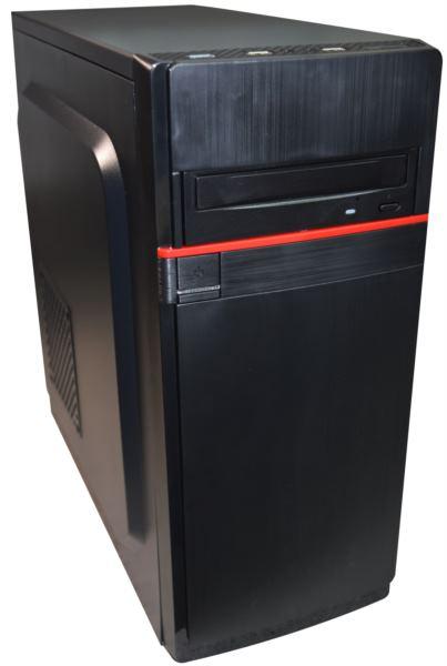 NaviaTec ATX Mid Tower PC Case, No PSU