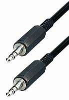 NaviaTec 3.5mm connector cable, male to male 1m