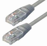 NaviaTec Cat5e UTP Patch Cable 0,25m grey