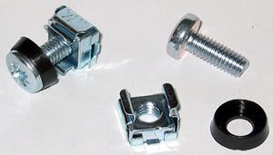 Digitus 1pc of Steel M6 Screw Caged Nut