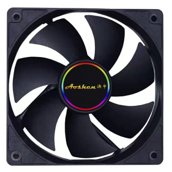 NaviaTec PC Case Fan 120mm, Black