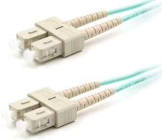 NaviaTec Optical Patch Cord SC-SC MM Duplex OM3 1m
