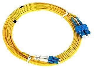 NaviaTec Optical Patch Cord LC-SC SM Duplex 2m