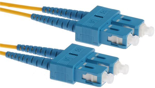 NaviaTec Optical Patch Cord SC-SC SM Duplex 5m