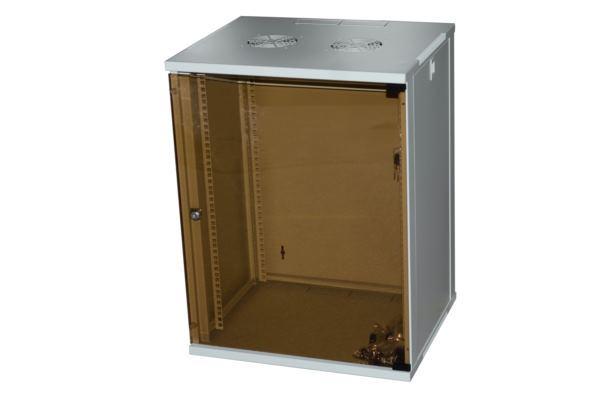 NaviaTec Wall Cabinet 540x600 9U Single Section