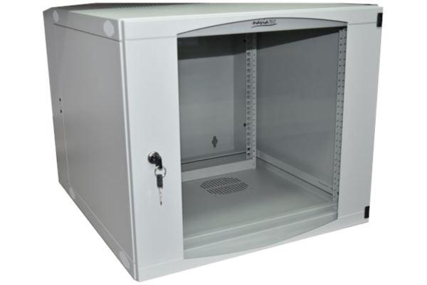 NaviaTec Wall Cabinet 570x600 9U Single Section, Bež
