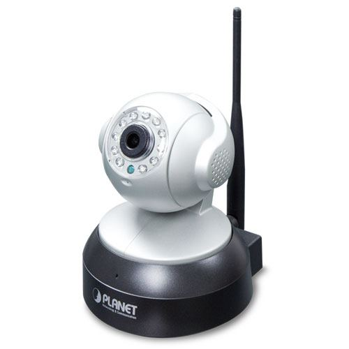 Planet 1MP 720P Wireless IR PT IP Camera