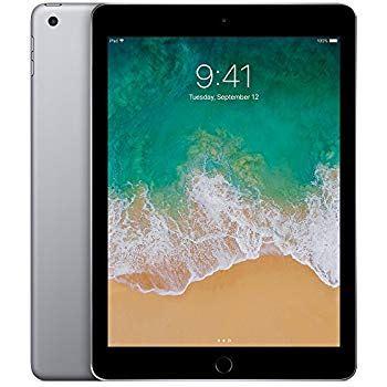 Refurbished Apple iPad 5th Gen, 128GB, Wifi Cellular, Space Gray