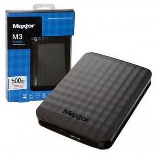 Maxtor M3 500GB, USB3.0, black