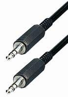 Transmedia 3,5 mm Stereo-plug 2,5m