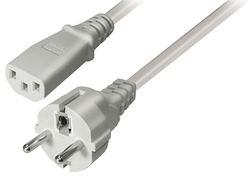 Transmedia Power Cable CEE 7 7 plug - IEC 320 C13 Jack