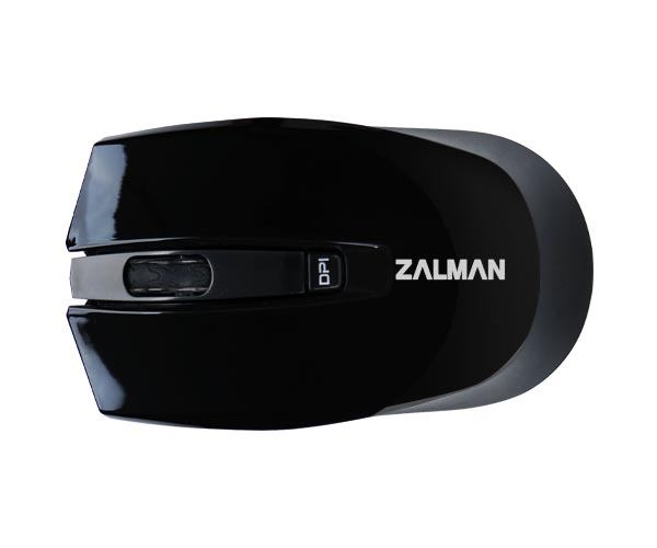 Zalman Wireless Optical Mouse, black